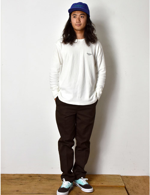【DELIVERY】 STANDARD CALIFORNIA - 2Layer Small Logo Long Sleeve_a0076701_16140861.jpg