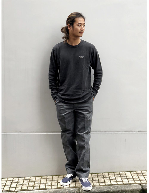 【DELIVERY】 STANDARD CALIFORNIA - 2Layer Small Logo Long Sleeve_a0076701_16142268.jpg
