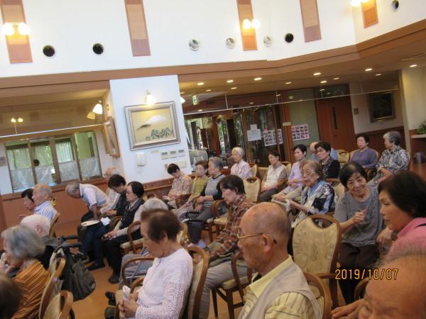 ケアハウスのイベント_a0166025_17210584.jpg