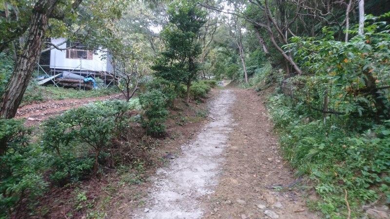 秋の恵みの収穫と道路工事_c0239329_16514118.jpg