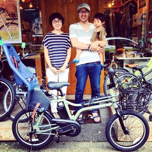 EZ ! パナソニックez 電動自転車特集『バイシクルファミリー』Yepp ビッケ ステップクルーズ 電動自転車 おしゃれ自転車 チャイルドシート bobikeone BEAMS ez bp02_b0212032_15505561.jpeg