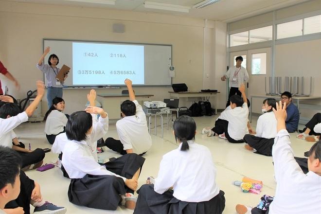 新潟県立加茂農林高校においてワークショップを行いました_c0167632_15055148.jpg