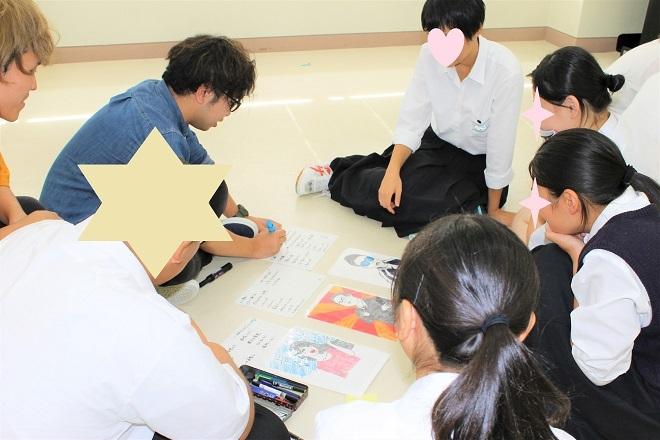 新潟県立加茂農林高校においてワークショップを行いました_c0167632_15062308.jpg