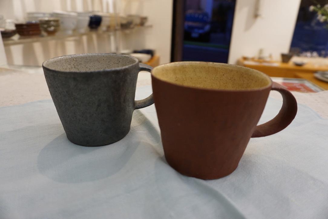 井内素さんのマグカップとデカップ_b0132442_18194671.jpg