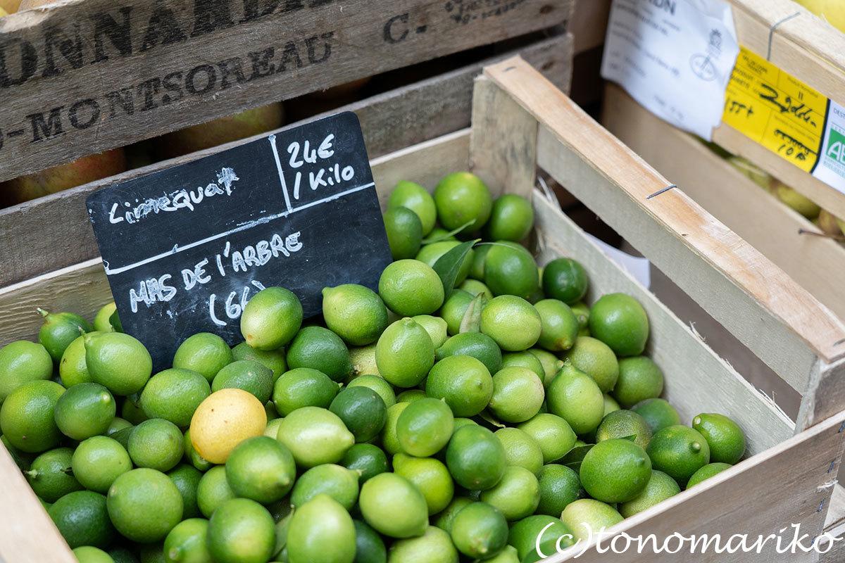 ゴロゴロゴロゴロ野菜に果物。パリの八百屋さん。_c0024345_21095217.jpg