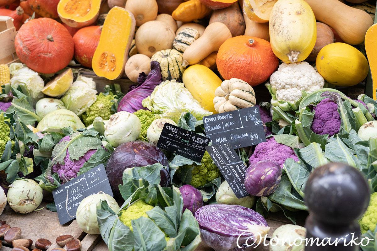 ゴロゴロゴロゴロ野菜に果物。パリの八百屋さん。_c0024345_21095269.jpg