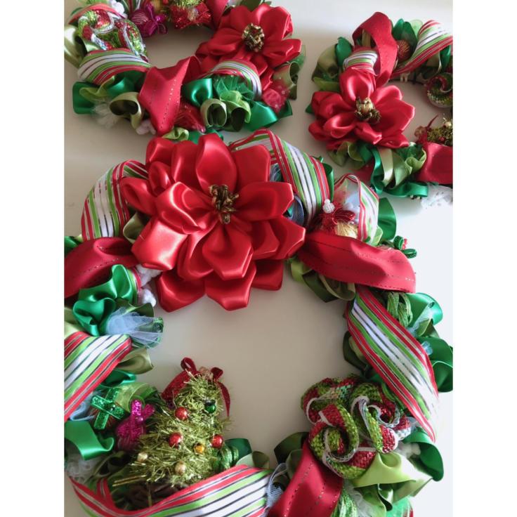 今年のクリスマスリース♡_f0017548_12093979.jpg