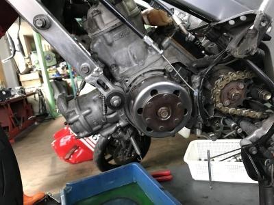 MC21  エンジン・車体 OH ⓵_e0114857_12143449.jpg