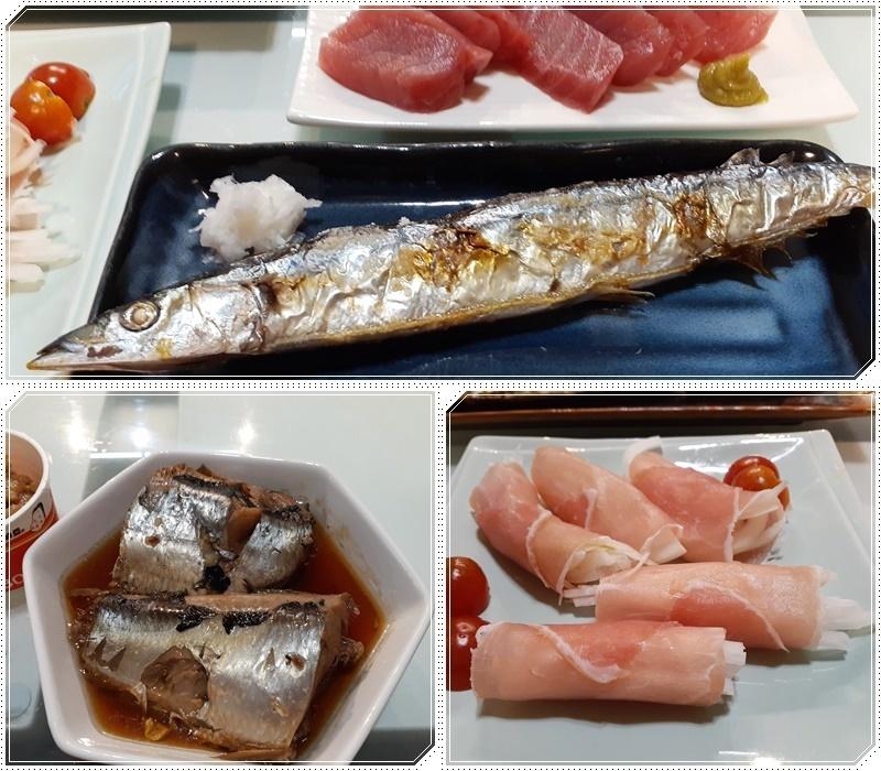 秋刀魚と回転寿司漁火_b0236665_09025596.jpg