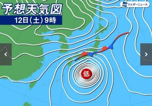 台風19号も怖いけど、前線で大雨も_c0108065_11094641.jpg