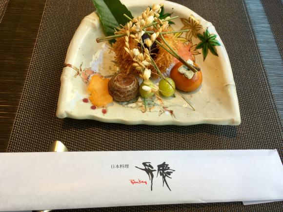ホテル日航大阪 日本料理弁慶_d0339676_19335567.jpg