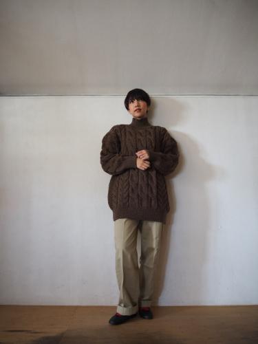 LENO Big Cable Sweater_e0357389_14442015.jpg