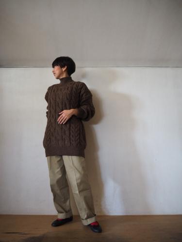 LENO Big Cable Sweater_e0357389_14442099.jpg