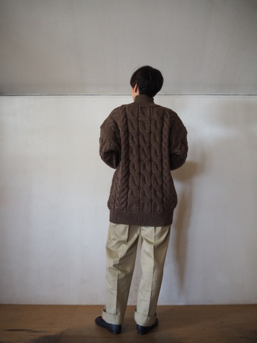 LENO Big Cable Sweater_e0357389_14450834.jpg