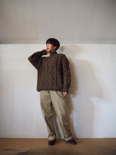 LENO Big Cable Sweater_e0357389_14451064.jpg