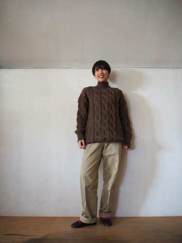 LENO Big Cable Sweater_e0357389_14451391.jpg