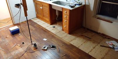 納品、マンション内装解体の一週間_a0061599_00115189.jpg