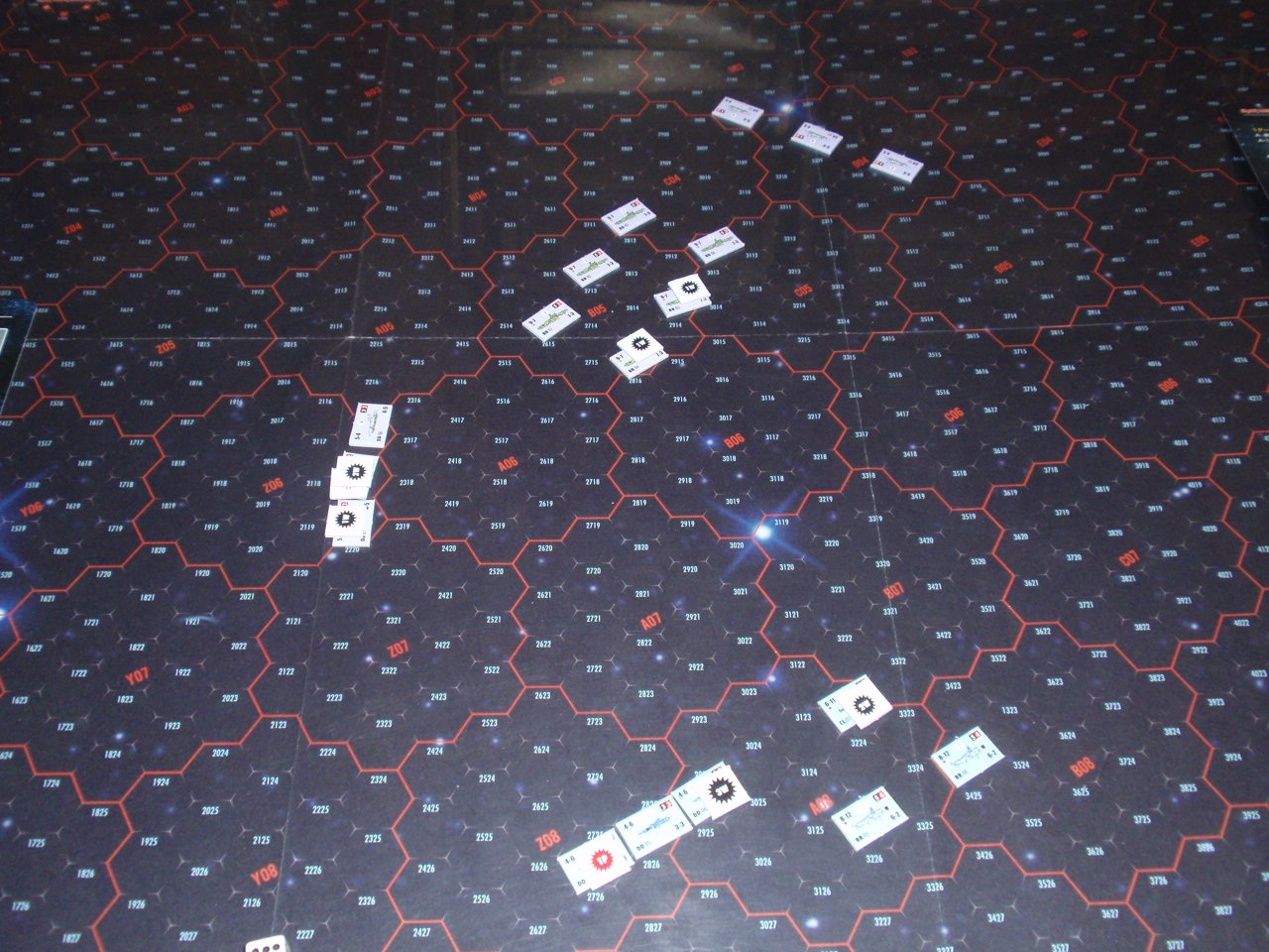 Bonsai Games「アイアン・デブリ・システム」よりシナリオ「全滅!ヒペリオン艦隊」をソロプレイ②_b0162202_1935540.jpg