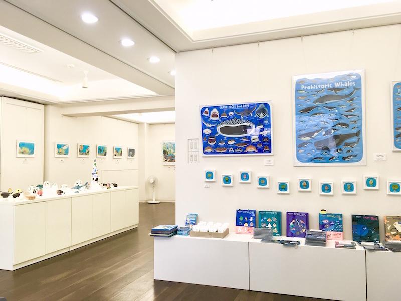 個展「サンゴといっしょ」終了_f0292806_01470226.jpg