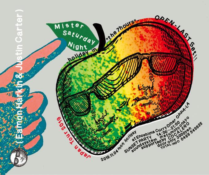 Mister Saturday Night 江の島CurryDiner OPPA-LA オッパーラは11月4日 月曜祝日 the 7hoursです‼️  3年ぶりにジャパンツアー開催決定‼️_d0106911_01191244.jpg