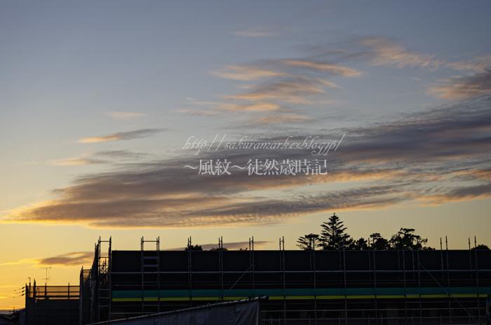 荒天を告げる夕暮れ。_f0235723_19404763.jpg