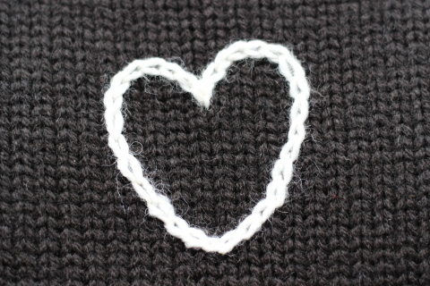 """「ChahChah」 遊び心満載の \""""HEARTFUL HAND EMBROIDERY KNIT\"""" ご紹介_f0191324_07494288.jpg"""