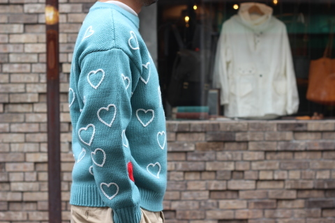"""「ChahChah」 遊び心満載の \""""HEARTFUL HAND EMBROIDERY KNIT\"""" ご紹介_f0191324_07503627.jpg"""
