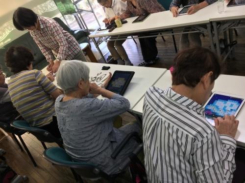 認知症予防教室(iPad)_c0113948_14533095.jpg