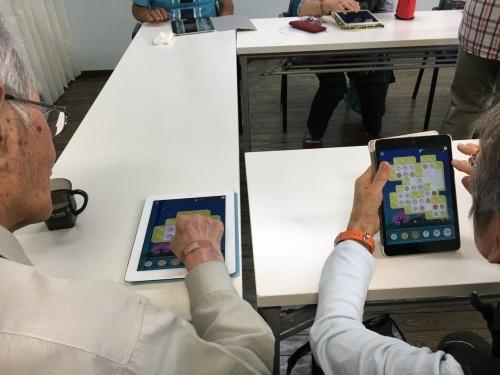 認知症予防教室(iPad)_c0113948_14533881.jpg
