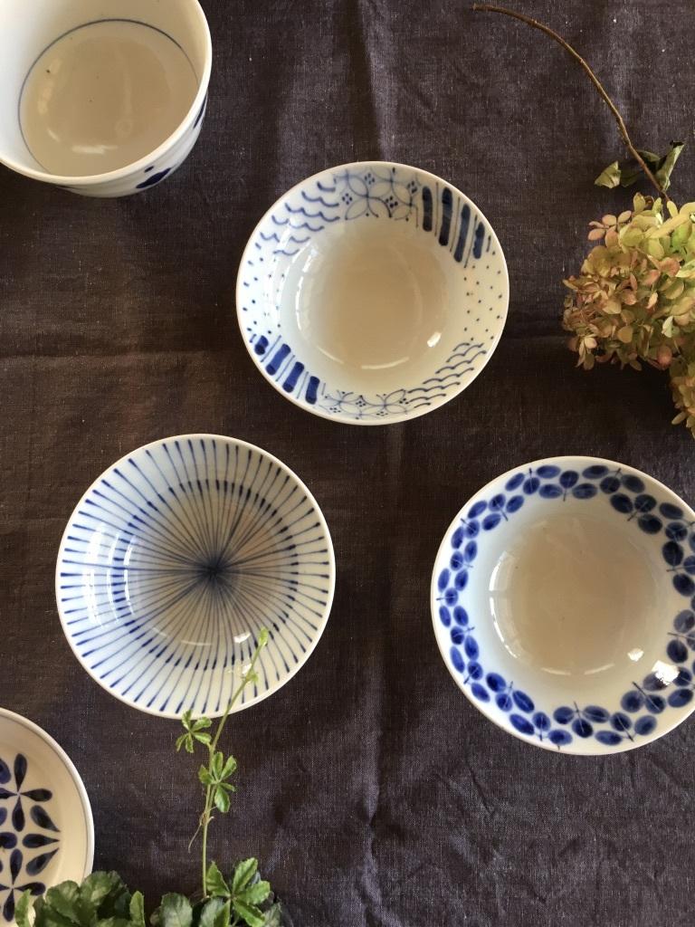 『再入荷した砥部焼「陶房遊」の器たち』&『テーブルは秋のしつらえに』_c0334574_16131709.jpg