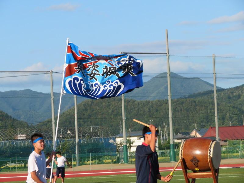 体育祭直前_e0359282_07152751.jpg
