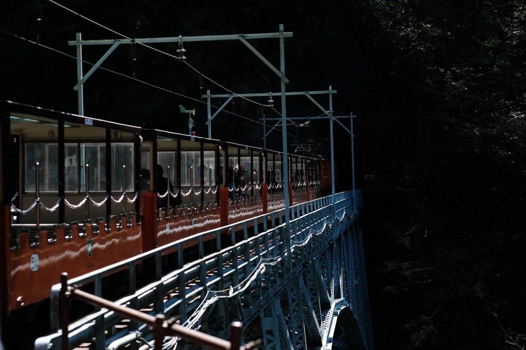 黒部峡谷トロッコ電車 <1> トンネルを抜けると 2019・10・07_e0143883_17033305.jpg