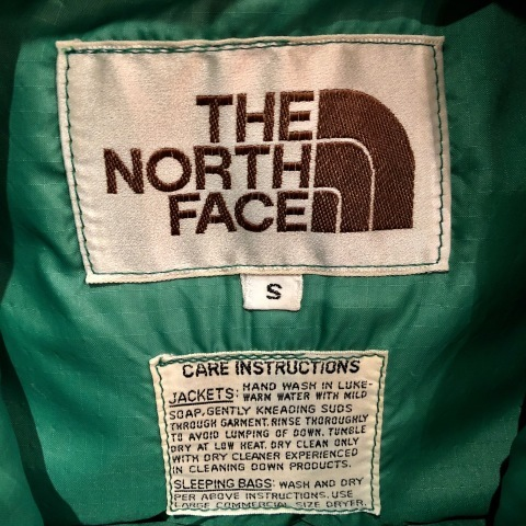 "1970s \"" THE NORTH FACE \"" - 初期 茶タグ - RIP STOP NYLON Vintage SIERRA DOWN VEST ._d0172088_21395644.jpg"