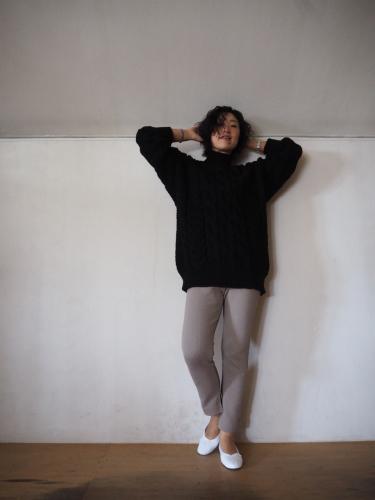 LENO Big Cable Sweater_e0357389_12501065.jpg