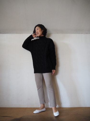 LENO Big Cable Sweater_e0357389_12503315.jpg