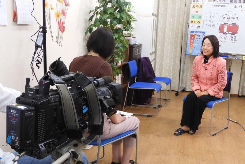 テレビ朝日、報道ステーションの取材_b0154492_09445429.jpg