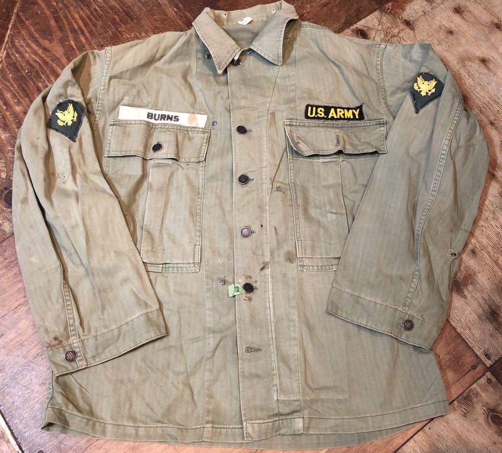10月12日(土)入荷!40s WW2 M-43 HBT 13STAR ボタン フィールドジャケット!_c0144020_13431950.jpg