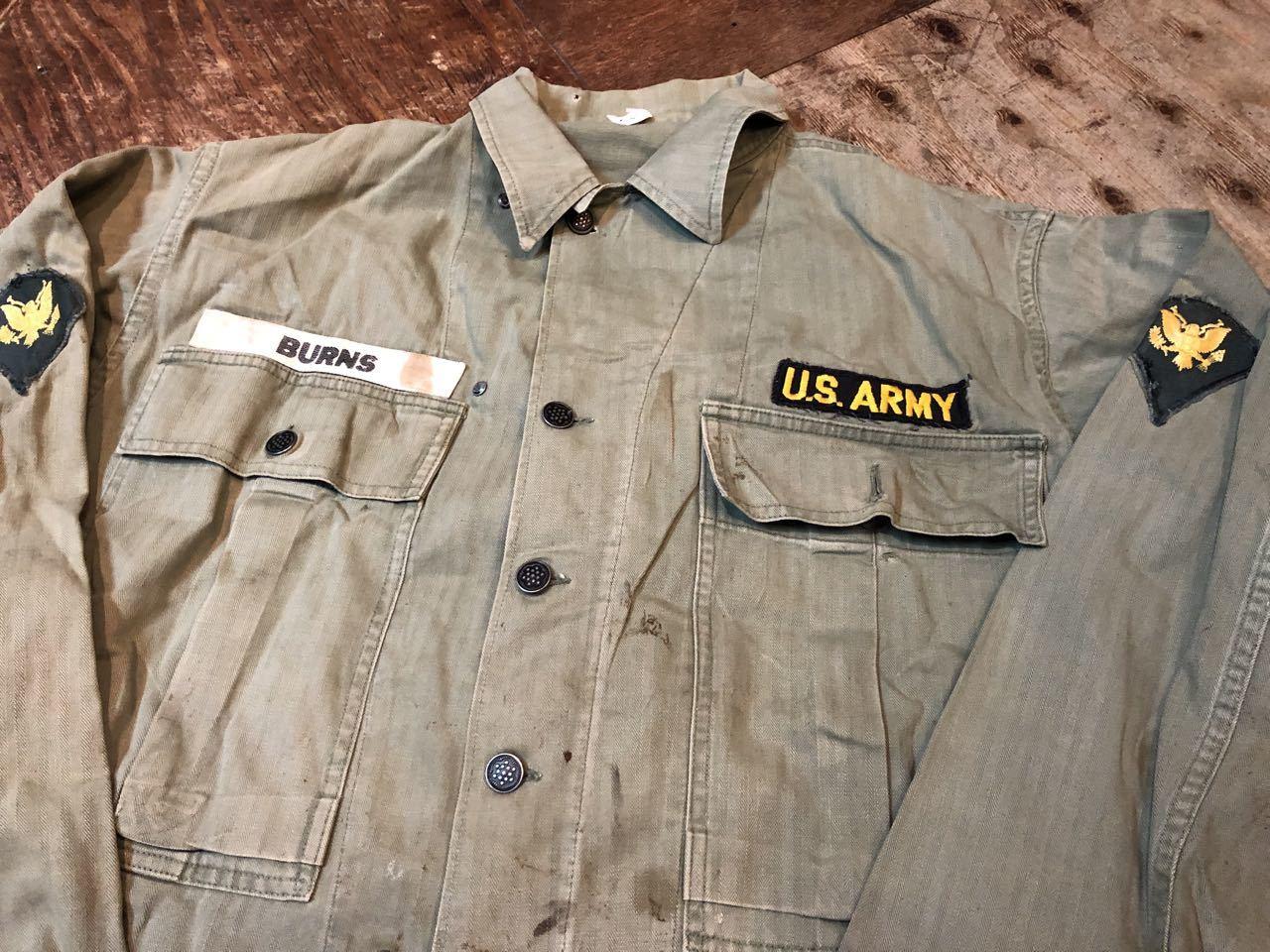 10月12日(土)入荷!40s WW2 M-43 HBT 13STAR ボタン フィールドジャケット!_c0144020_13432472.jpg