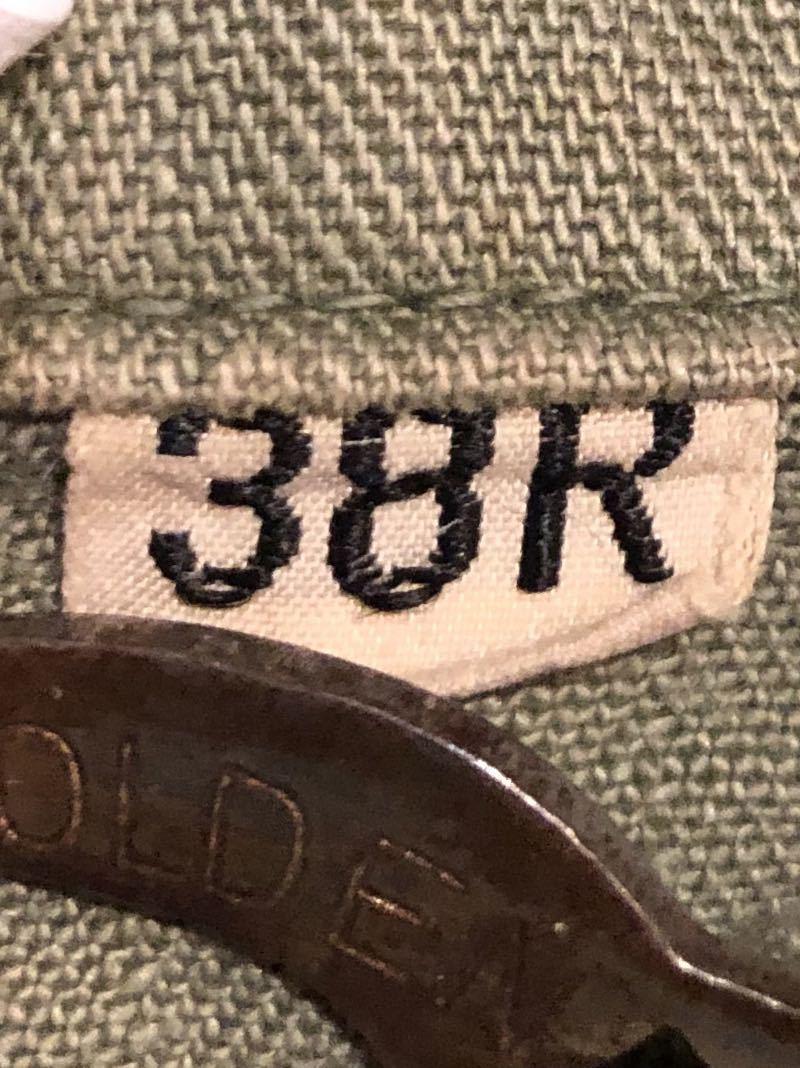 10月12日(土)入荷!40s WW2 M-43 HBT 13STAR ボタン フィールドジャケット!_c0144020_13510055.jpg