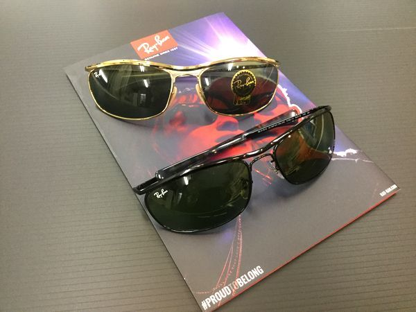RAYBAN-レイバン-復刻モデル【OLYMPIAN Ⅰ DELUXE】ご紹介します! by甲府店_f0076925_15175984.jpg