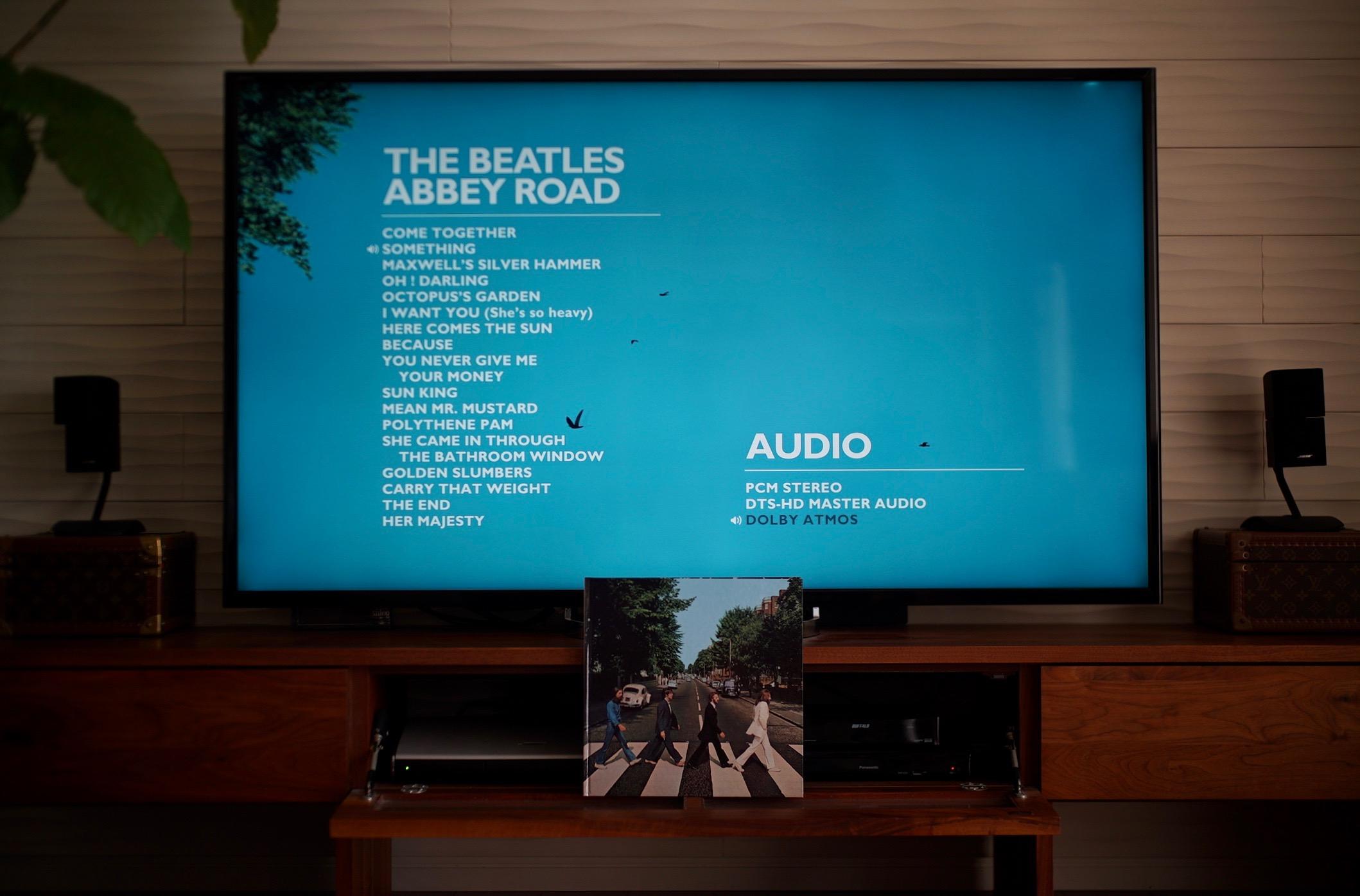 ABBEY ROAD 50周年記念と Dolby Atmos..._f0057849_14463738.jpg