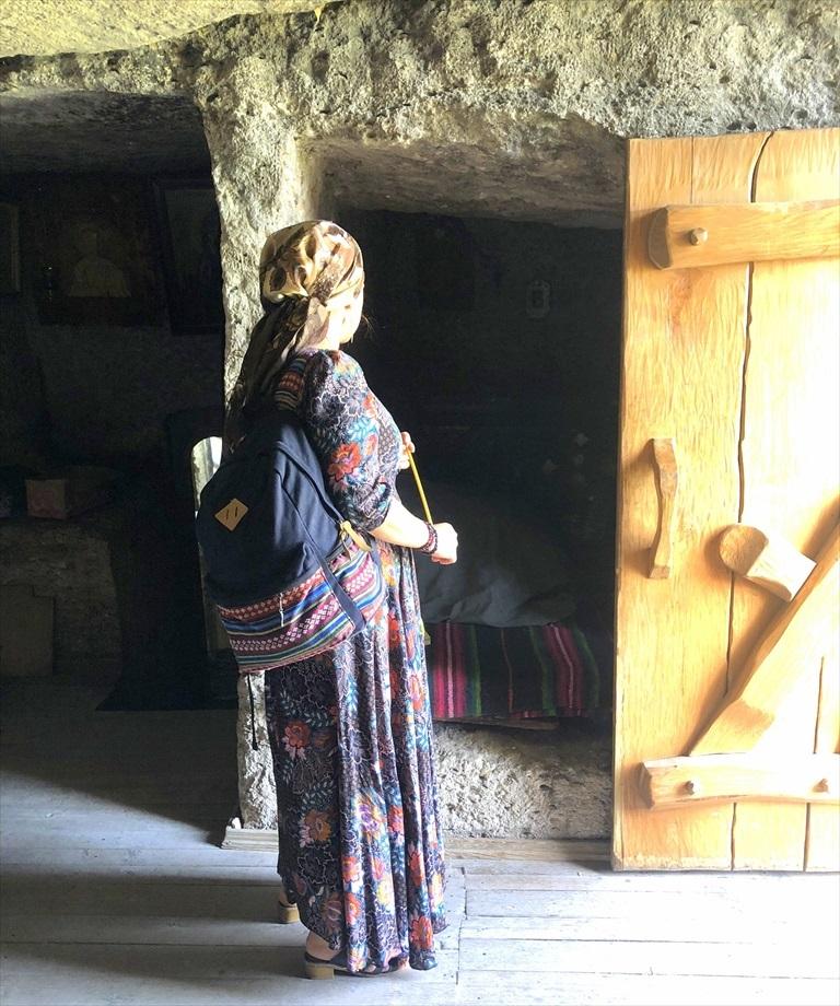 旧オルヘイ洞窟修道院@モルドヴァ_a0092659_23395825.jpg
