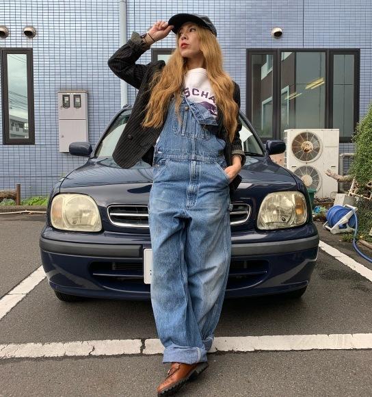 vintage スエットコーデ&二階の帽子_a0108963_01102230.jpeg