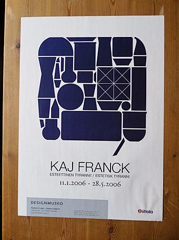 Kaj Franck 2006 Poster_c0139773_15582163.jpg