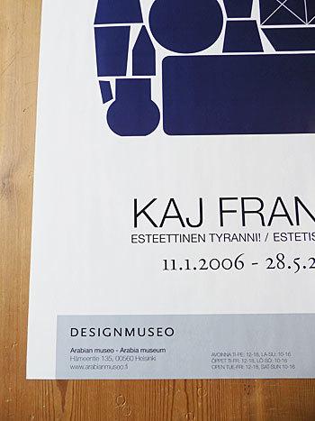 Kaj Franck 2006 Poster_c0139773_15592317.jpg