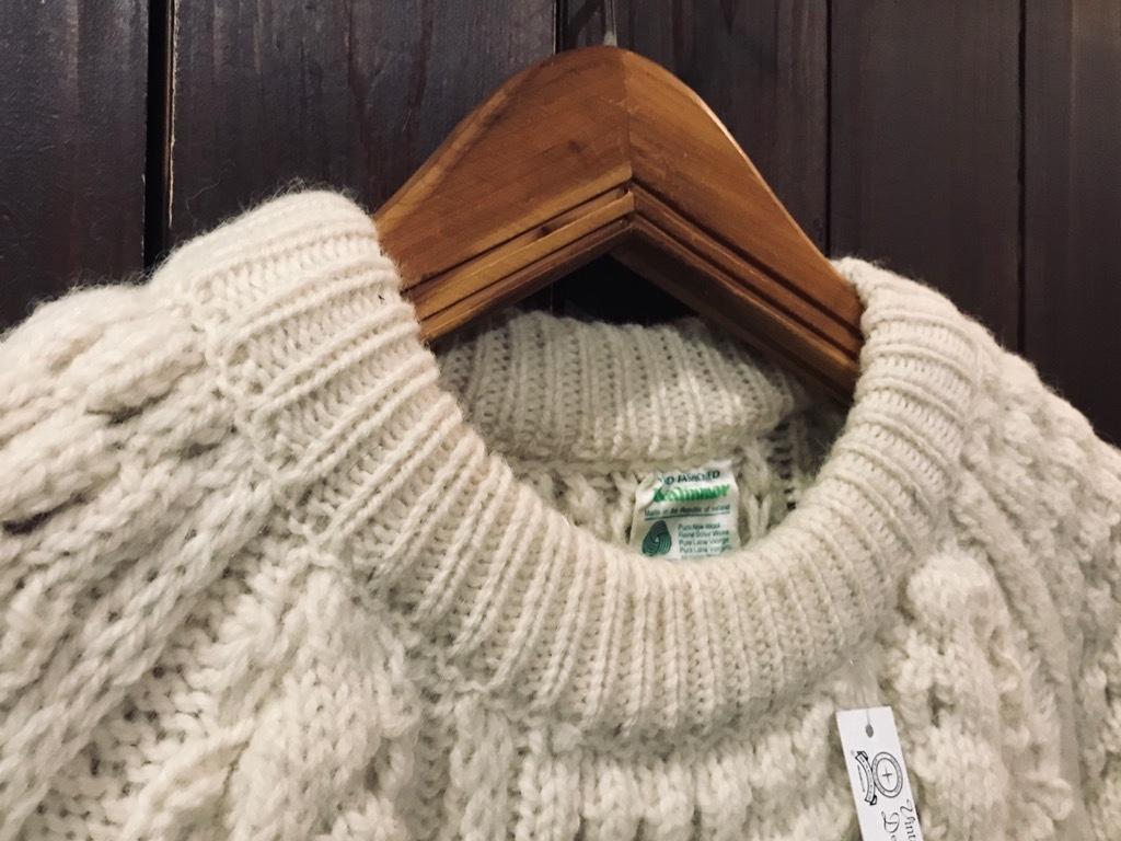 マグネッツ神戸店 10/12(土)冬スーペリア入荷! #6 Aran Knit Item!!!_c0078587_14123601.jpg