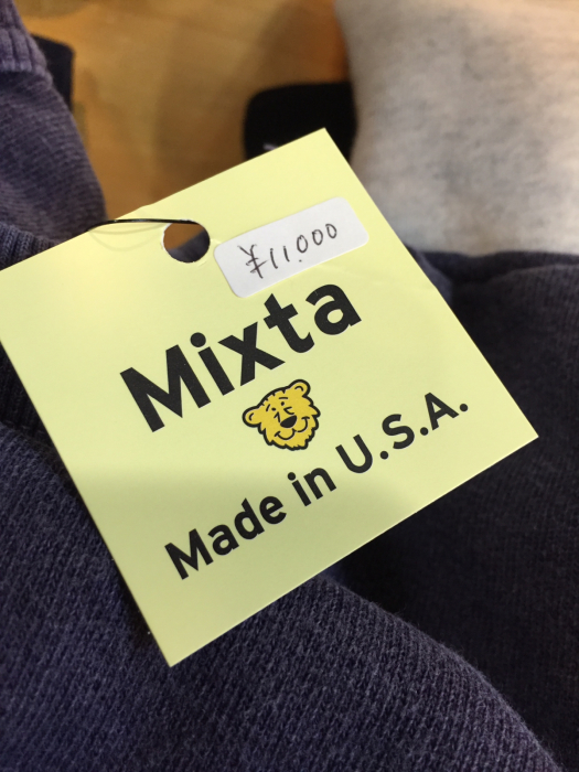 MIXTA Made in USA IMPORT SWEAT_e0076692_15193567.jpg