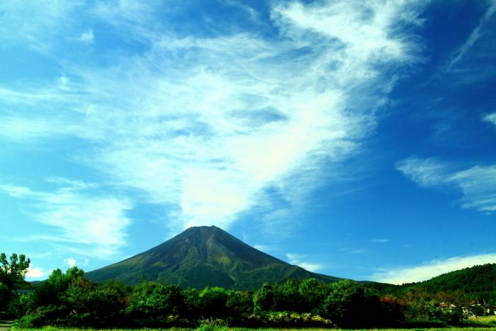 令和元年10月の富士(7)北麓から仰ぐ富士_e0344396_18260339.jpg