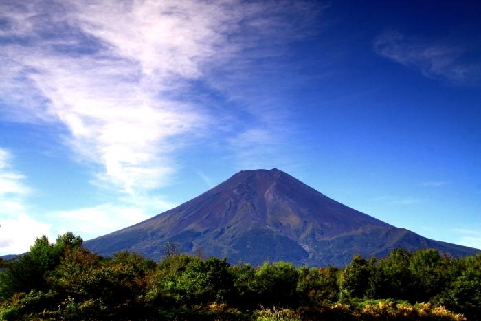 令和元年10月の富士(7)北麓から仰ぐ富士_e0344396_18261120.jpg