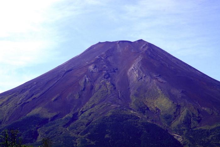 令和元年10月の富士(7)北麓から仰ぐ富士_e0344396_18274573.jpg
